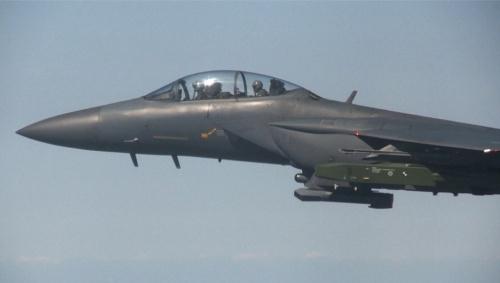 Máy bay F-15K của Hàn Quốc. Ảnh: AP.