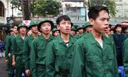 Tân binh Hà Nội dâng hương tưởng niệm anh hùng liệt sĩ