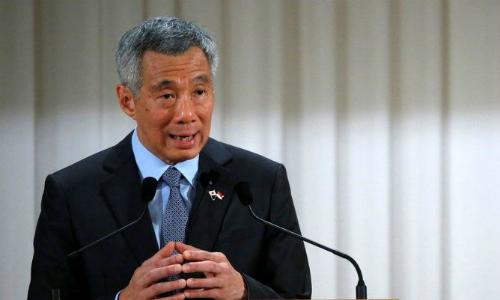 Thủ tướngSingapore Lý Hiển Long. Ảnh: Reuters.