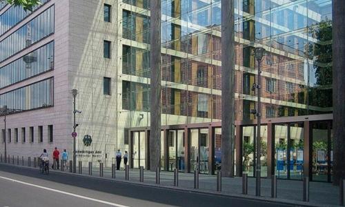 Lối vào tòa nhà Bộ Ngoại giao Đức, thủ đô Berlin. Ảnh: Wikipedia.