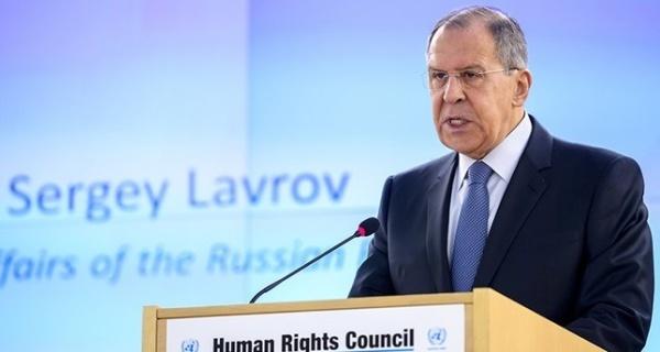 Ngoại trưởng Nga Sergey Lavrov. Ảnh: AP.