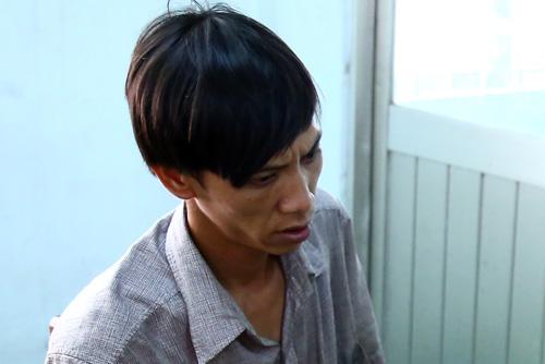Trần Minh Phụng bị bắt. Ảnh: Nguyệt Triều.