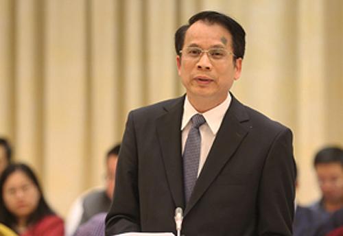 Thứ trưởng Giáo dục và Đào tạo Phạm Mạnh Hùng. Ảnh: Võ Hải.