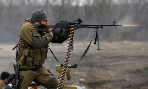 Lính đánh thuê Nga tập luyện trước khi nhận nhiệm vụ. Ảnh: 112 International.