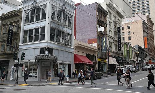Đường phố ở San Francisco. Ảnh: SFChronicle.