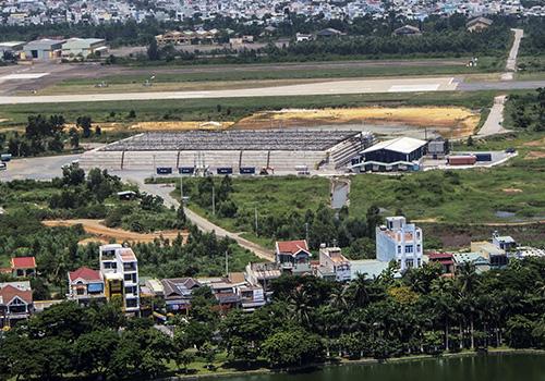 Một góc sân bay quốc tế Đà Nẵng. Ảnh: Nguyễn Đông.