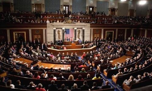 Một phiên họp Thượng viện Mỹ. Ảnh: Reuters.