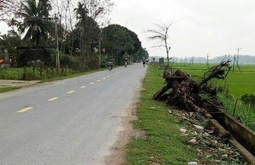 Đoạn quốc lộ 46C nơi xảy ra vụ tai nạn nghiêm trọng.