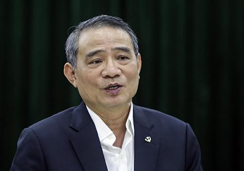 Bí thư Thành ủy Đà Nẵng Trương Quang Nghĩa tại buổi làm việc. Ảnh: Nguyễn Đông.