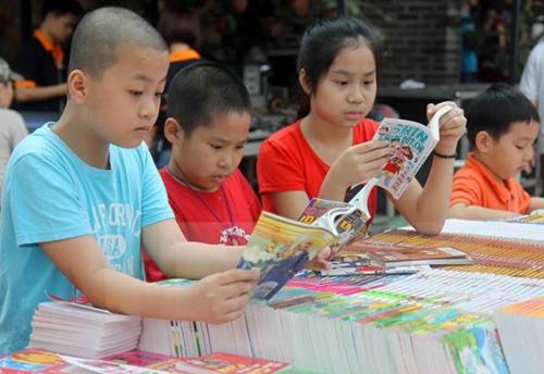 Hà Nội tổ chức cuộc thi tìm kiếm Đại sứ văn hóa đọc thủ đô, nhằm khuyến khích việc đọc sách cho học sinh.