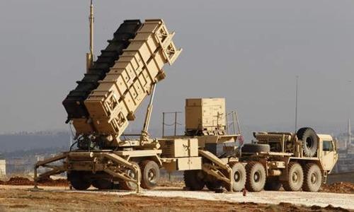 Hệ thống phòng thủ tên lửa Patriot của Mỹ. Ảnh: Reuters.