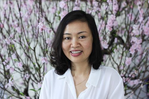 Bác sĩ Trần Vân Khánh, một trong hai nữ khoa học gia nhận giải thưởng Kovalevskaia năm 2017. Ảnh: Dương Tâm