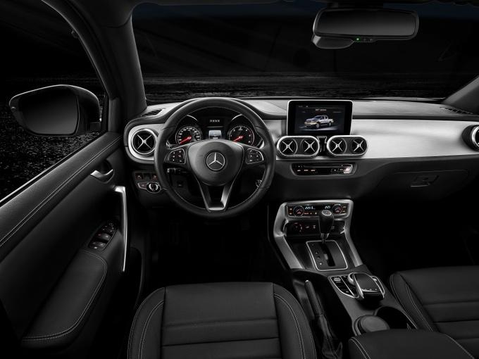 Bán tải hạng sang Mercedes X350d 4Matic giá từ 65.500 USD