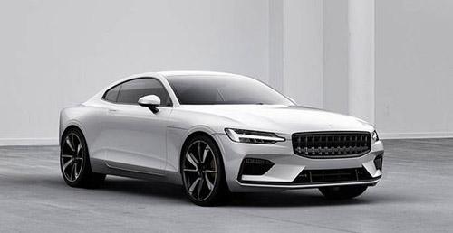 Polestar 1, coupe thể thao mạnh 600 mã lực của phân nhánh hiệu suất cao Polestar thuộc Volvo. Ảnh: Express.