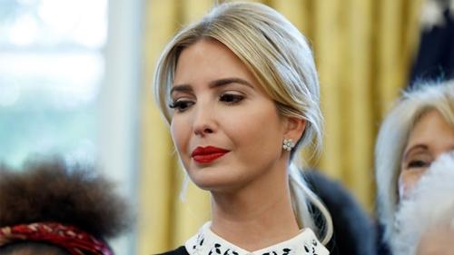 Ivanka Trump, con gái Tổng thống Donald Trump. Ảnh: AP.