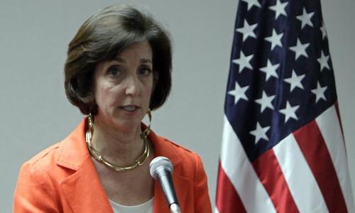 Đại sứ Mỹ tại Mexico Roberta Jacobson. Ảnh: Cubadebate.