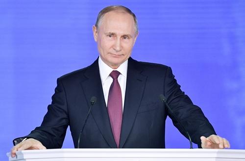 Tổng thống Nga Vladimir Putin. Ảnh: SkyNews.