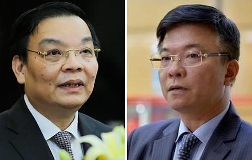 Bộ Trưởng Chu Ngọc Anh và Lê Thành Long sẽ trả lời chất vấn tại phiên họp thứ 22 của Uỷ ban thường vụ Quốc hội.