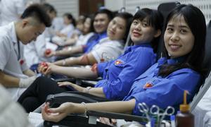 Khoảng 15.000 người sẽ hiến máu đầu xuân ở Hà Nội