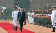 Ấn Độ bắn 21 phát đại bác đón Chủ tịch nước Việt Nam
