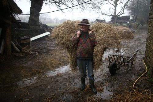Ông lão với triết lý làm nông không máy móc, không công nghệ