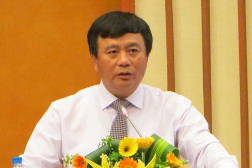 Ông Nguyễn Xuân Thắnggiữ chức Chủ tịch Hội đồng Lý luận Trung ương nhiệm kỳ 2016 - 2021. Ảnh: P.V