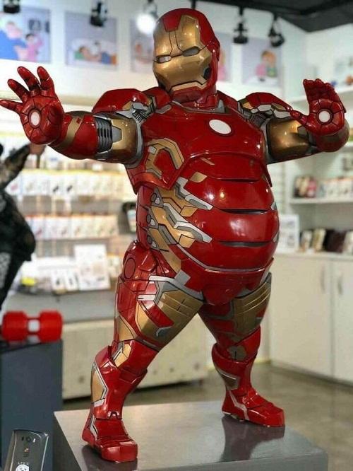 Iron man phiên bản tăng cân sau Tết.