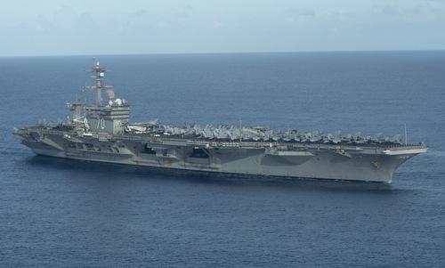 Tàu sân bay USS Carl Vinson. Ảnh: US Navy.