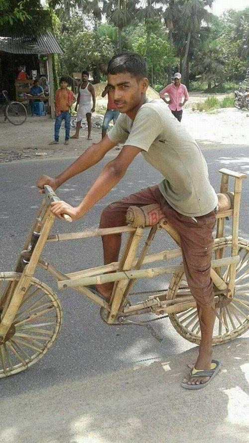 Xe đạp phiên bản thân thiện với môi trường,
