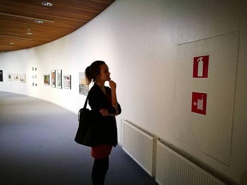 Không có điều gì là bình thường trong một triển lãm nghệ thuật.