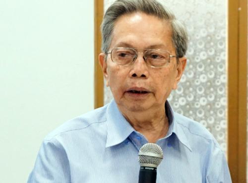 TS Nguyễn Ngọc Giao. Ảnh:Tuyết Nguyễn.