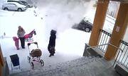 Bé một tuổi rưỡi cứu mẹ khỏi tuyết lở