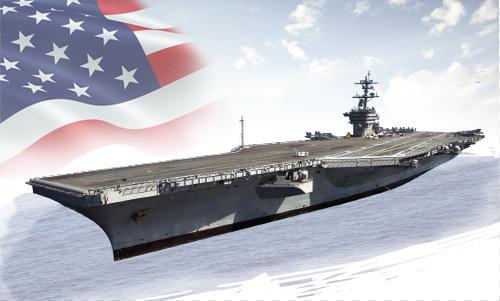 Hệ thống vũ khí trên tàu sân bay USS Carl Vinson. Bấm vào ảnh để xem đầy đủ.