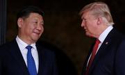 TV Trung Quốc chuyển màu đen khi Trump đùa về nhiệm kỳ của ông Tập