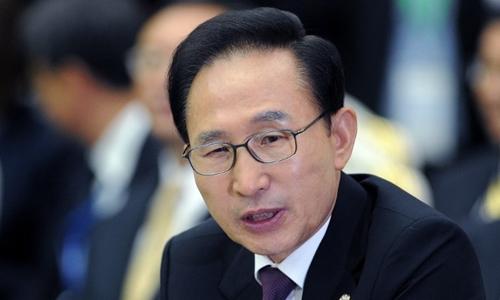 Ông Lee Myung-bak. Ảnh: AFP.