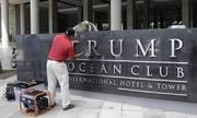 Chữ Trump bị gỡ khỏi khách sạn ở Panama
