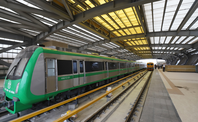 Đường sắt Cát Linh - Hà Đông gặp khó ở các hạng mục thi công cuối