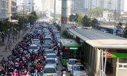 Sở Giao thông Hà Nội: 'Buýt thường không được đi vào làn BRT'