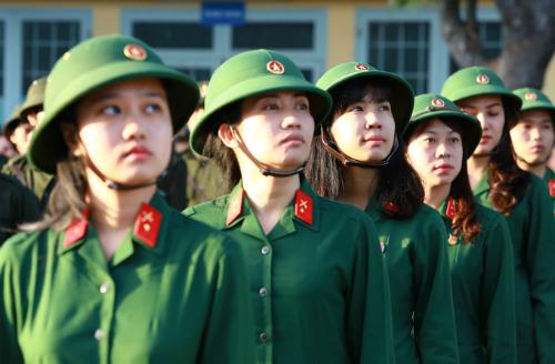 Năm nay TP HCM sẽ có 2 nữ thanh niên tham gia nghĩa vụ quân sự. Ảnh minh họa: Thành Nguyễn