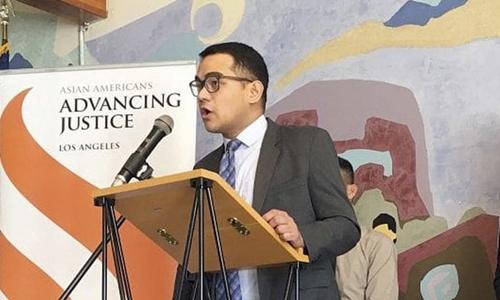 Christopher Lapinig một trong những luật sư đại diện cho người Việt nhập cư kiện chính quyền Mỹ. Ảnh: AP.