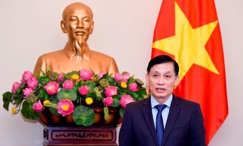 Thứ trưởng Ngoại giao, Chủ nhiệm Ủy ban Biên giới quốc gia Lê Hoài Trung. Ảnh: Bộ Ngoại giao.