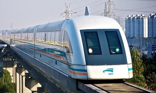 Tàu đệm từ Thượng Hải là tàu đệm từ thương mại nhanh nhất thế giới. Ảnh: Wikipedia.