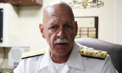 Đô đốc Scott Swift. Ảnh: Reuters.