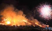 Dân đảo Jeju đốt đồng ruộng trong lễ hội lửa