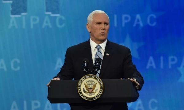 Phó tổng thống Mỹ Mike Pence. Ảnh: AFP.