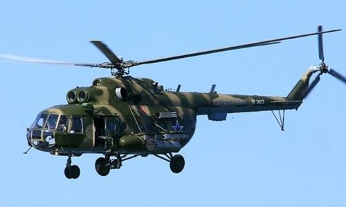Một chiếc trực thăng Mi-8. Ảnh: HEPA.