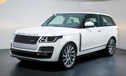 Range Rover SV Coupe ra mắt tại Geneva Motor Show 2018.