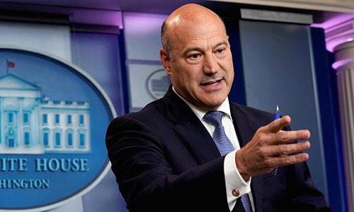 Ông Gary Cohn, cố vấn kinh tế trưởng của Tổng thống Mỹ. Ảnh: CNBC.