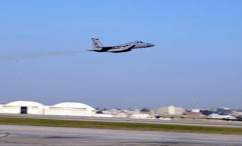 Chiến đấu cơ F-15 của Mỹ tại Nhật. Ảnh: USAirForce.