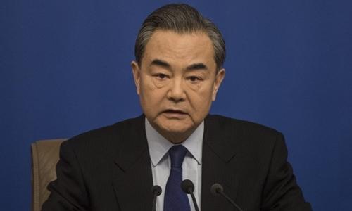 Ngoại trưởng Trung Quốc Vương Nghị. Ảnh: AFP.
